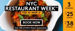 NYC Restaurant Week 2015